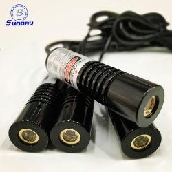 1-30MW 520Nm 高品質グリーンレーザーモジュール工業用紫青
