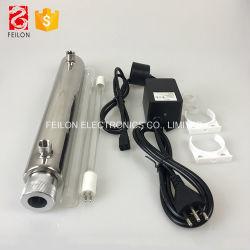 Alimenter directement Germicida lampe pour traitement des eaux usées de la lumière ultraviolette purificateur