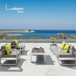 Mobili da Giardino in alluminio spazzolato, divano a modulo in alluminio, lounge per All'aperto - Fata (pronta per la spedizione)