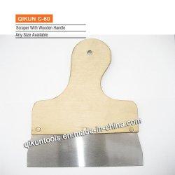 C-60 Konstruktion Dekoration Farbe Hardware Hand Werkzeuge Radiermesser mit Holzgriff