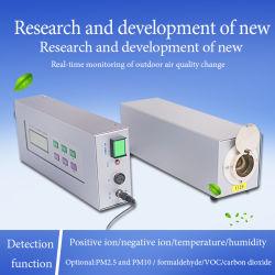 Video negativo separato dello ione, sistema di controllo negativo in linea dello ione, video negativo dello ione del sistema di silvicoltura di ricerca scientifica