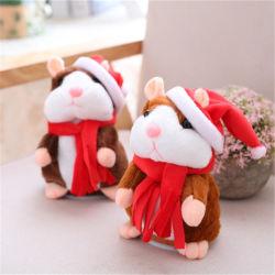 2018 Sprekend de Muis van de Hamster van het Verslag spreek de Gift van de Kinderen van Kerstmis van het Stuk speelgoed van de Pluche