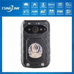 32g de corpo 4G sem fio Android Wearable Câmera com GPS Laser Beidou localizando