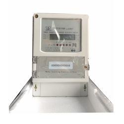 Dreiphasenvier Drähte Lorawan Kilowattstunde-Messinstrument mit LCD-Bildschirmanzeige