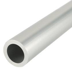 알루미늄 밀어남 자동차 부속을%s 이음새가 없는 양극 처리된 알루미늄 합금 둥근 관