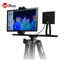 Sistema di selezione d'avvertimento termico ferroviario infrarosso di febbre del sistema di allarme di misura di temperatura del sistema di selezione della macchina fotografica di registrazione di immagini termiche del corpo del termometro