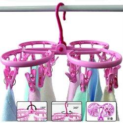 24 مسلخ ملابس قابلة للطي حانقة بلاستيكية حانقة مقطرة