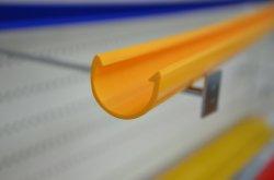 Les fabricants professionnels LED voie et le couvercle en plastique PC