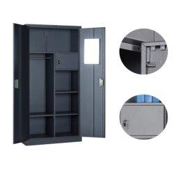 Cbnt стальной шкаф платяной шкаф с одной спальней корзины дизайн