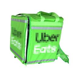 고품질 공장 맞춤 제작 우버시트 절연 식품 배달 백 배낭 자전거를 위한 접이식