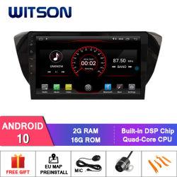 ويتسون شاشة كبيرة تعمل بنظام Android 10 للسيارة طراز DVD طراز Volkswagen مقاس 10.2 بوصة سكودا ممتاز