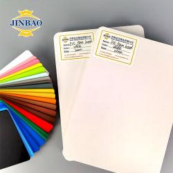 تم تجميد جينباو بمقدار 1.5 مم 4 مم 7 مم 20 مم السمك من مادة PVC الزخرفية إسفنج 1.22 × 2.44 لوح الكتابة