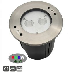 10W RGBW IP68 светодиод под водой бассейн лампа