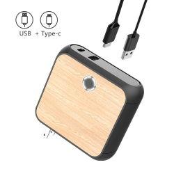 Neuer Stecker-Arbeitsweg-Adapter der Entwurfs-Universalitäts-vier mit USB-Ladung-Aufladeeinheit mit Energien-Bank
