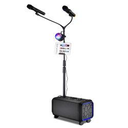 Miscelatore esterno ricaricabile ad alta fedeltà dell'audio dell'altoparlante del carrello di Bluetooth mini