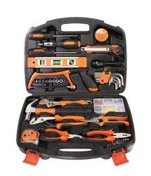 Профессиональные пластмассовом ящике для хранения домашнего использования 106ПК DIY набор ручного инструмента