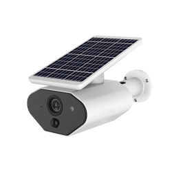 IP66 2MP de batería solar exterior impermeable inalámbrico WiFi cámara de vigilancia PIR