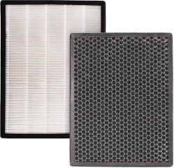 Purificador de ar de substituição verdadeiro filtro HEPA e o carbono pré-filtro compatível com Alexapure Breeze 3049 Purificador do Ar Ap-B103 AP-B104