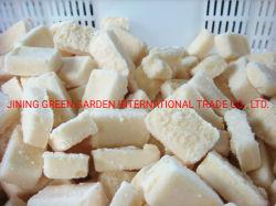 Chinese Export Groothandel Prijs geschild Plakken bevroren Knoflook Puree in Kubus