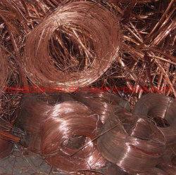 La chatarra de cable de cobre de un 99,99% precio de fábrica
