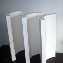 L'isolant ignifuge résistant à la chaleur de silicate de calcium du couvercle de section de tuyau
