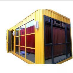 우아한 조립식 모듈 선적 컨테이너 집 다방 바 다방