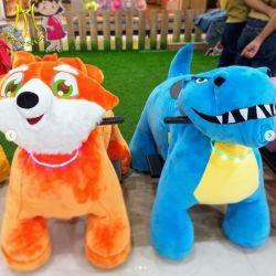 Hansel Piscina Mall Zoo Scooter animal para as crianças que se deslocam no Bear