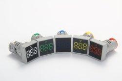 22mm AC 20 ~ 500V 電圧計正方形パネル LED デジタル電圧計 インジケータライトデジタルパネルインジケータ Ad101 22vm