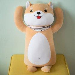 De hete Verkopende Hond van het Stuk speelgoed van de Gift van Kerstmis van het Materiaal van de Hond van het Ontwerp van de Douane van de Manier Super Zachte