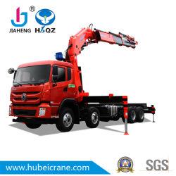 Usine de gros de 25 tonnes SQ500ZB5 HBQZ de flèche articulée hydraulique monté sur camion grue pour camion-benne