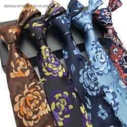 人のための黒によって編まれるMicrofiberのサテンのジッパーのネクタイ