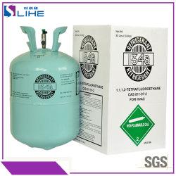 Commerce de gros d'usine de 99,9 % de la pureté du gaz de la Climatisation Réfrigérant R134A