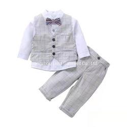 فصل صيف جديدة حارّ يبيع شهم [لونغ-سليفد] يهيأ [3-بيس] مجموعة طفلة ملابس فتى لباس حزب مظهر