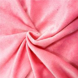 Soft de microfibra poliéster textil hogar Velboa Tapicería de terciopelo Polar tejido de juguete