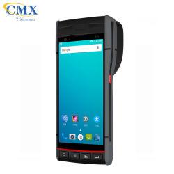 Écran tactile robuste 5.5inch Android POS Terminal de données PDA AVEC IMPRIMANTE SCANNER