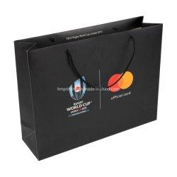 Настраиваемый логотип печать 250 GSM Private Label реклама бумажный мешок для чемпионата мира по футболу события сувенирного магазинов