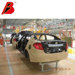 Brazo robótico completamente automático de la línea de pintura de Faw, fábrica de automóviles de la línea de cabinas de pintura automotriz