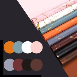 Упаковка роскошные ткани подарок букет упаковочная бумага оптовой красочное празднование дня рождения Craft бумаги офсетной печати бумага с покрытием из ПВХ