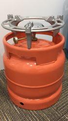 Parrilla de Gas Gas de hierro y el quemador para 6kg y 3kg cilindro para Ghana, Nigeria, Níger, el mercado con precios bajos