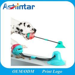 Пэт игрушки Molar Bite интерактивные веревки воспроизведение резиновые чью шарик собака игрушки с присоской
