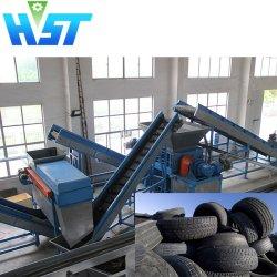 Sucata de Reciclagem de Pneus de Borracha Triturador de pneu para superfície Playground