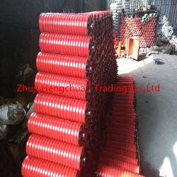 Transportador de Correia Intermediária do impacto de borracha resistente de alta temperatura padrão do Rolete Intermitente China Rolo Transportador de Correia do Cilindro do Transportador de rolos de aço do Rolete de impacto