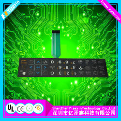 tastiera della membrana 3m467/468 con i tasti ed il circuito di FPC