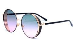 Новый дизайн 180269 оптовые дешевые раунда моды женщин солнечные очки мужские очки от цен на нефть, солнечные очки Man
