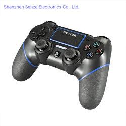 Accessori senza fili del video gioco della barra di comando del gioco del rilievo del gioco del regolatore del gioco di Bluetooth di qualità di Senze Sz-4002b Hight per la sezione comandi di PS4 SONY