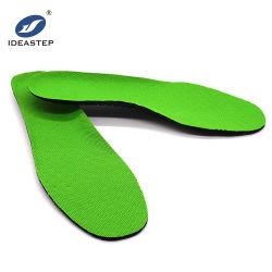 Commerce de gros bon marché promotionnel Ideastep perforé de chaussures de football respirant EVA semelle intérieure de soccer