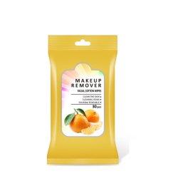 構成の除去剤のぬれたワイプの携帯用パッキングフルーツの芳香30PCS