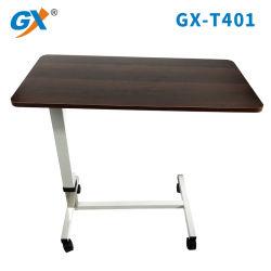Медицинские портативный ноутбук портативный письменный стол Overbed таблица с колеса