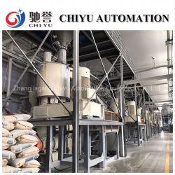 Sistema de Transporte de vacío/máquina de procesamiento por lotes y pesaje de funcionamiento automático mezclador/PVC/mezcla/máquinas del sistema de transporte neumático de polvo/sistema de transporte