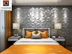 Новая модель внутренней стенки материалов отделки 3D кожаные настенной панели